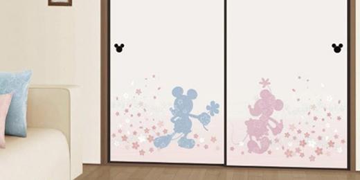 ディズニーコレクション襖紙