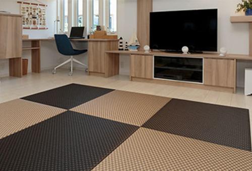 カラー樹脂素材のカラー畳
